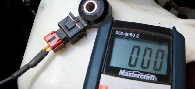 como probar sensor de detonación