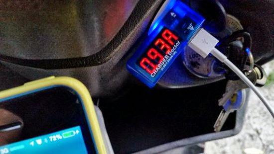 [開箱] 機車小U:機車專用USB車充機車族3C產品救星 20140702_183411