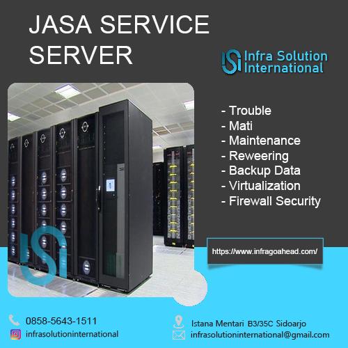 Jasa Service Server Makasar