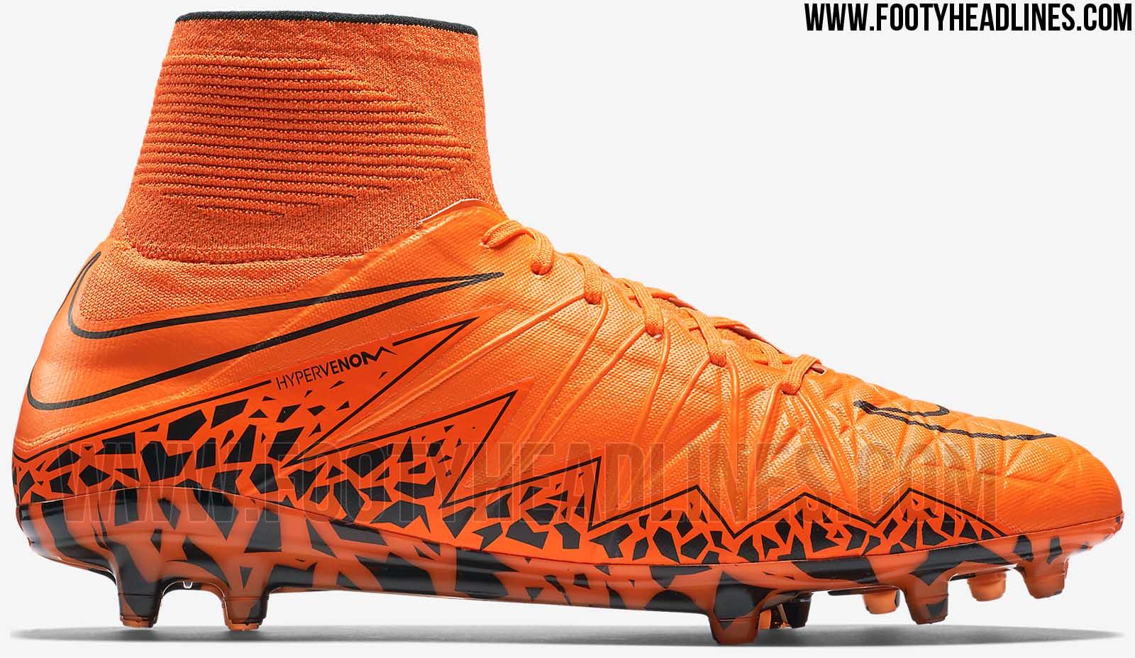 Oranger Nike Hypervenom 2 2015 Fußballschuh veröffentlicht ...