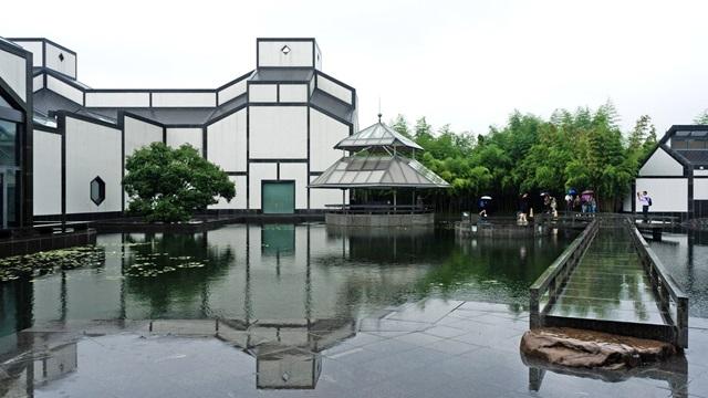 พิพิธภัณฑ์เมืองซูโจว (Suzhou Museum) @ www.archdaily.com