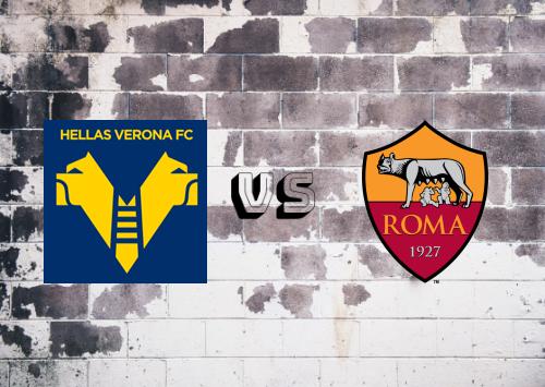 Hellas Verona vs Roma  Resumen
