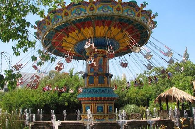 Carrossel Isla Mágica em Sevilha