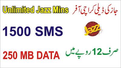 Jazz Karachi Daily Offer