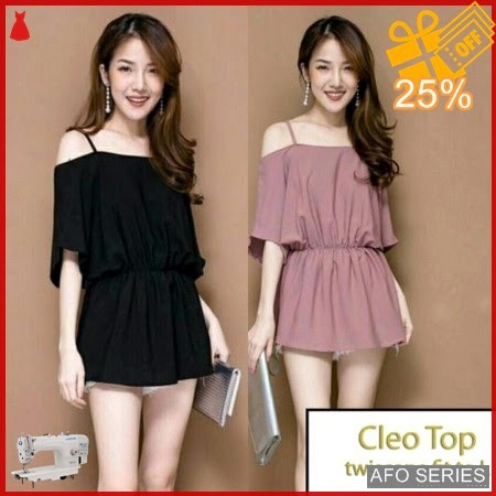 AFO133 Model Fashion Cleo Top Modis Murah BMGShop