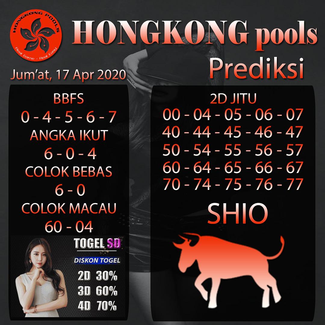 Prediksi HK Kamis 16 April 2020 - Prediksi HK Pools