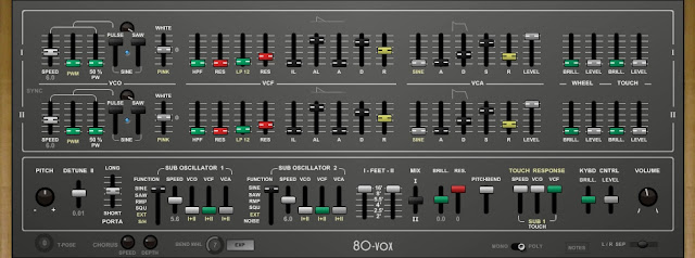 80-Vox - Vintage Synthesizers [Yamaha CS-80]