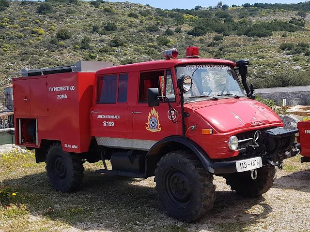Σημαντική επιχειρησιακή αναβάθμιση του Εθελοντικού Πυροσβεστικού Κλιμακίου Ύδρας
