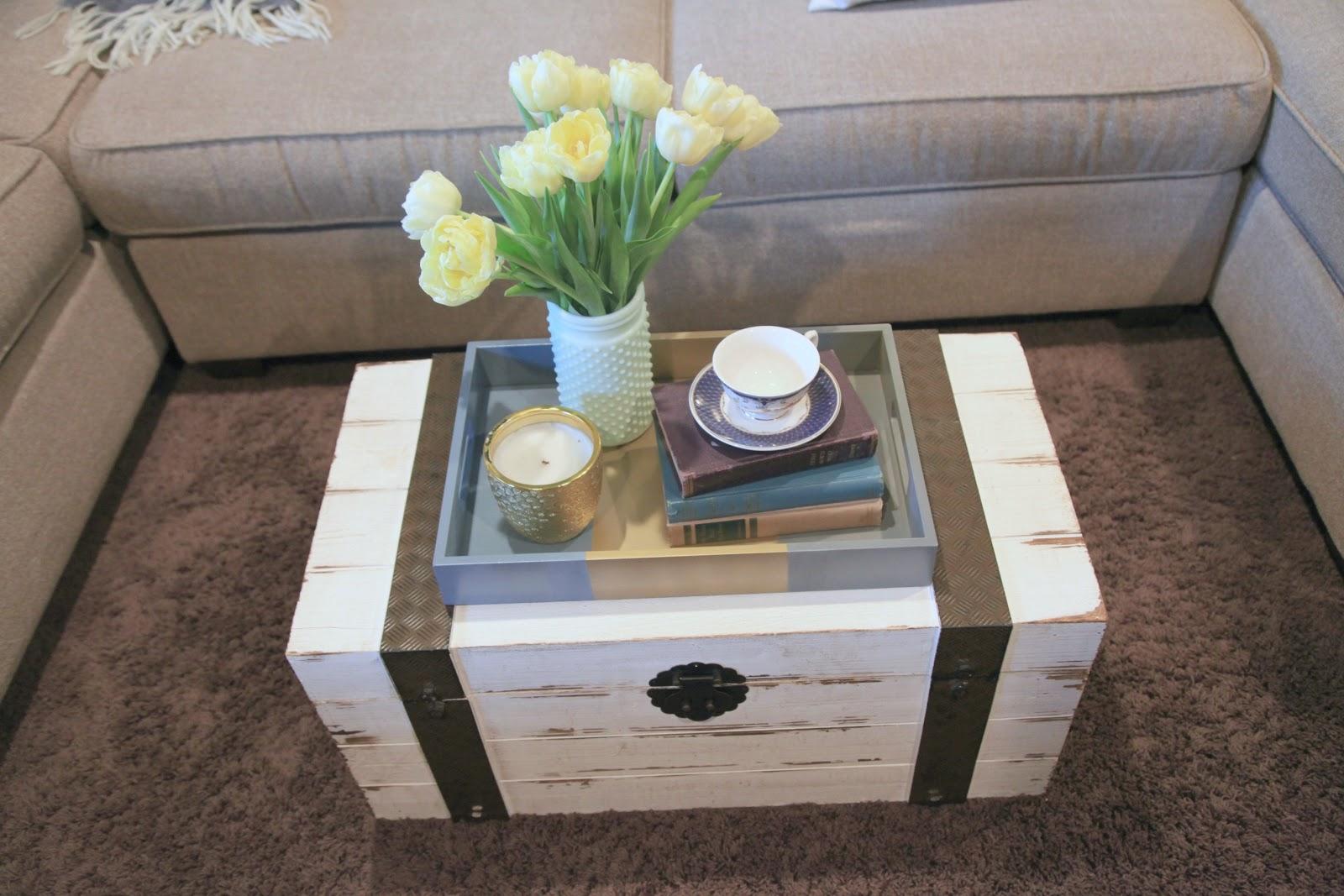 Pinterest Coffee Table Decorating Ideas
