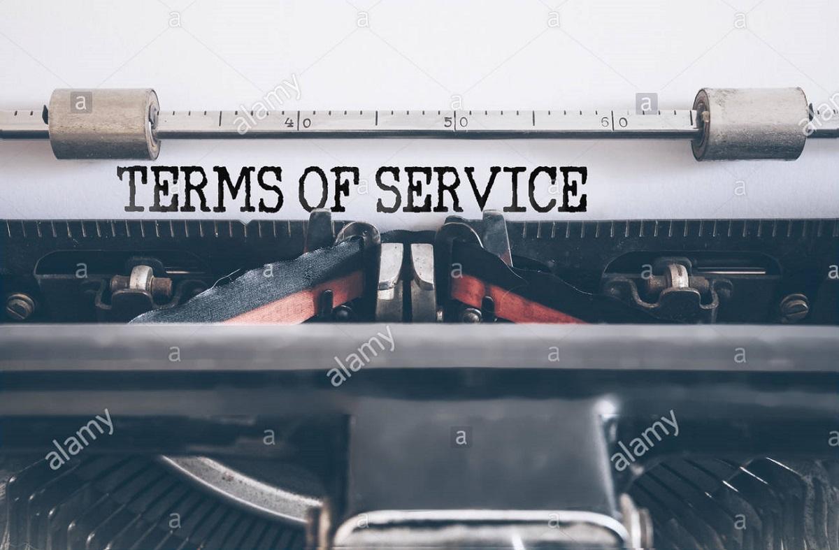 Términos de servicio