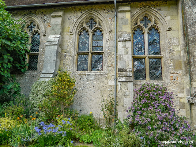 Jardim do Hospital of Saint Cross, Winchester, Inglaterra