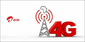 Airtel NG 4G LTE bonus of 4GB and 25% Data bonus