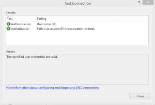 Cek Koneksi Antara IIS dengan Windows