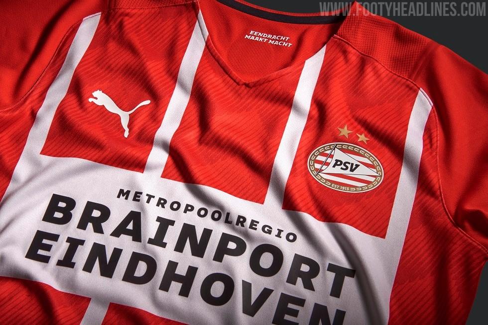 PSV 21-22 Home Kit Released - Footy Headlines