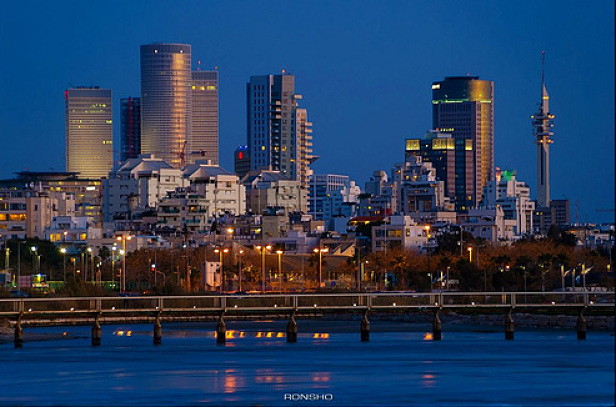 Image Attribute: Tel Aviv skyline by Ron Shoshni, used under Creative Commons