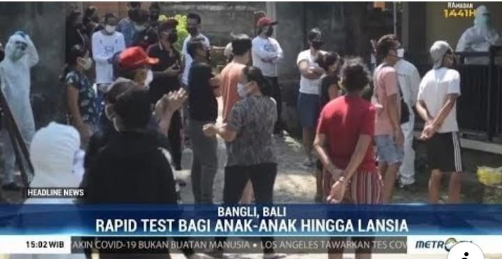 Satu Kampung di Bali Positif Corona, Aktivis Kemanusiaan: Sedih Tapi Geram