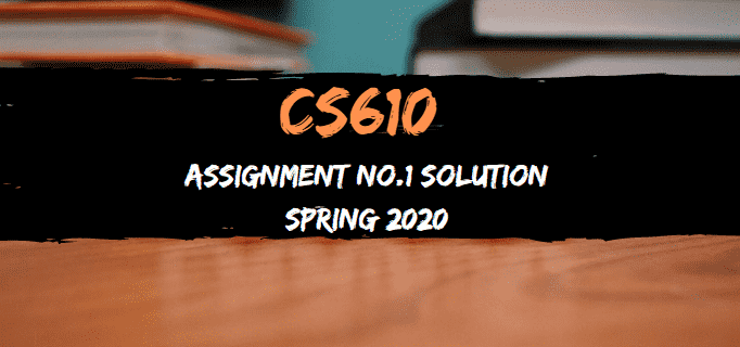 cs610