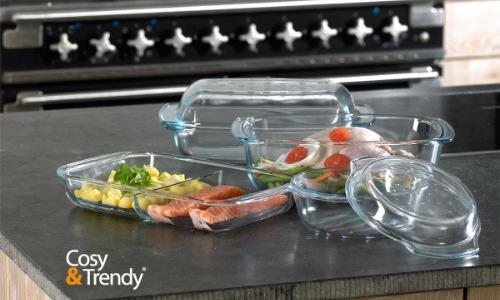 ovenschaal glas cosy & trendy