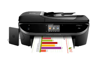 HP Officejet 8040 with Neat Driver and Setup