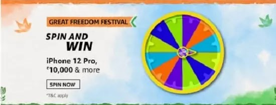 The Great Freedom Festival, where you can get amazing discounts on your favorite brands on Amazon starts from