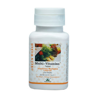 Green World Multi Vitamin Tablet For Adult