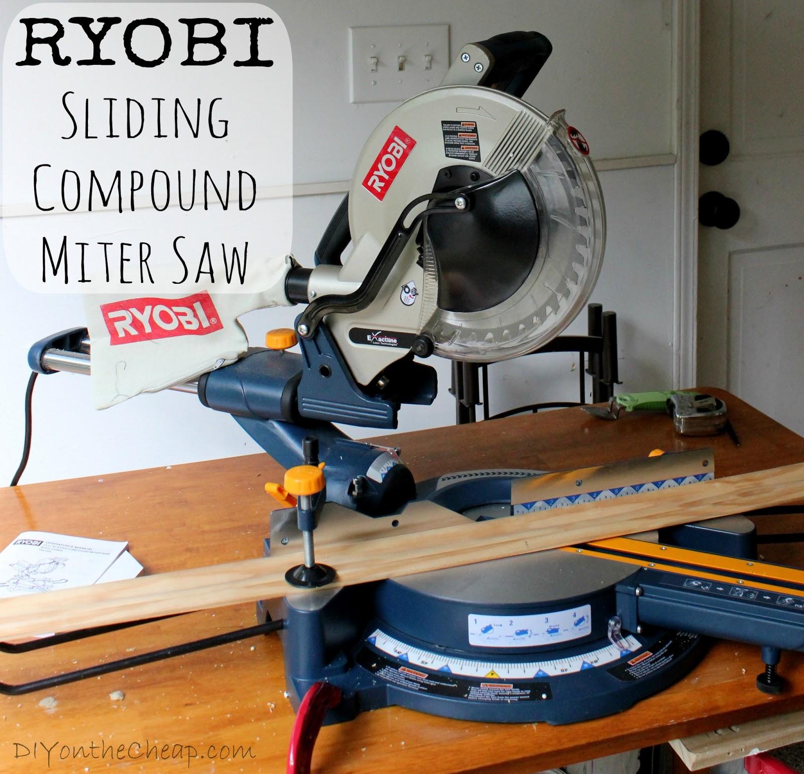 Ryobi 10 Miter Saw Review
