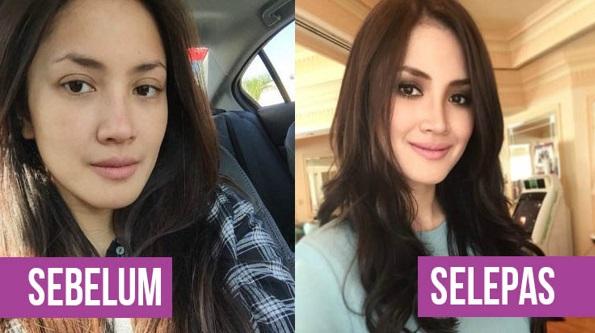 10 Wajah Selebriti Malaysia Tanpa Makeup! Siapa Paling Cantik Natural?