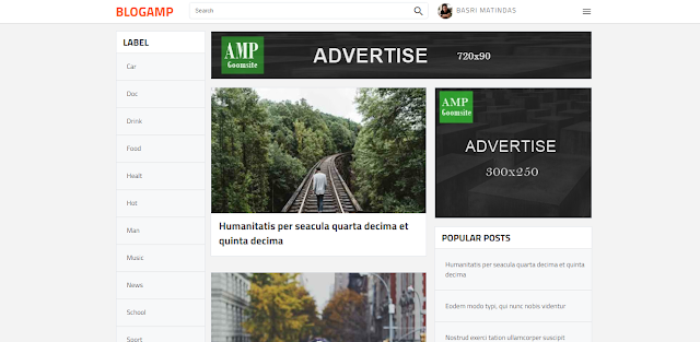 Blog Amp