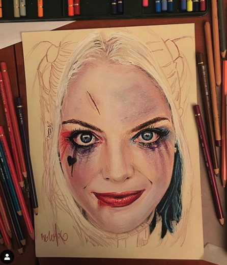 Dibujo de Harley Quinn