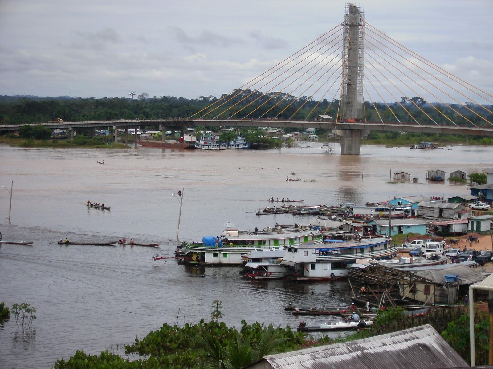 Resultado de imagem para rio juruá cheio