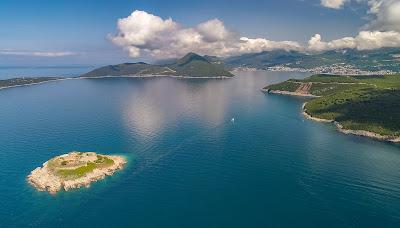 Mamula island in Boka Kotorska