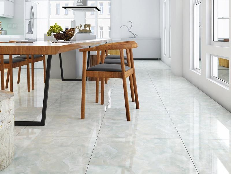Sử dụng Mẫu gạch Đồng Tâm vân mây cho không gian phòng bếp vẻ đẹp tinh tế và lãng mạn