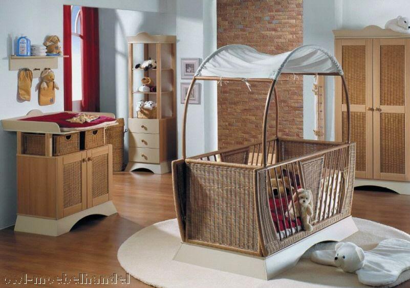 Cuartos de bebés en marrón beige y celeste - Ideas para decorar ...
