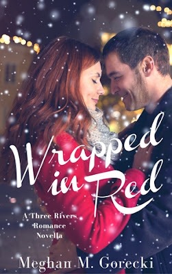 'Wrapped in Red' by Meghan M. Gorecki: A Cozy Christmas Story with an Emphasis on Family. A review of the sweet novella. Text © Rissi JC