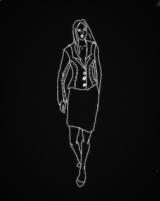 Czarne tło