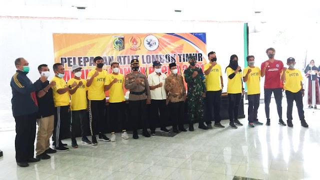 Siap berlaga di PON Papua, Atlet Lotim diimbau kompak dan jaga solat