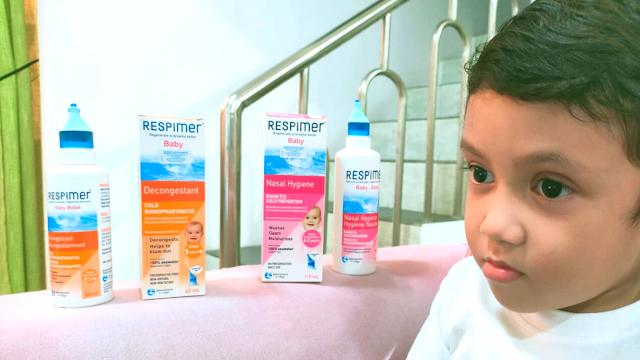 Respimer Baby Nasal Hygiene dan Respimer Baby Decongestant