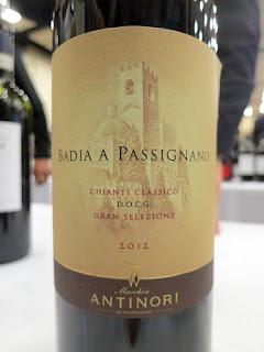 Antinori Badia A Passignano Gran Selezione Chianti Classico 2012 (92 pts)