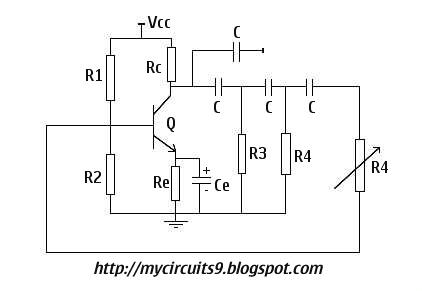 Wein Bridge Oscillator Circuit Diagram Consumer Unit Wiring Split Load Simple Sine Wave Generator | My Circuits 9