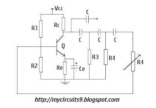 Simple SINE WAVE GENERATOR CIRCUIT | MyCircuits9