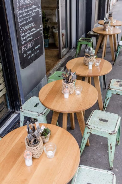 desain cafe outdoor kreatif terbaik