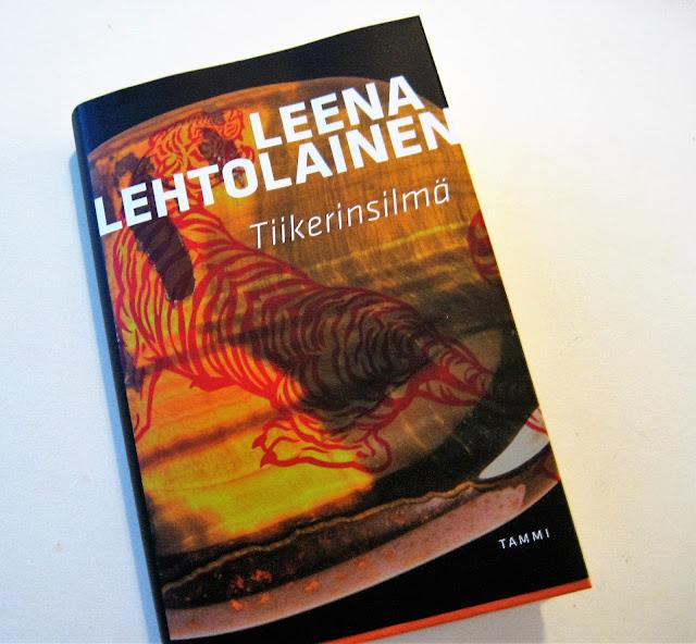 kirja, Leena Lehtolainen, Tiikerinsilmä