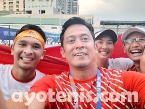 Menangi Pertarungan Sengit Rubber Set, Aldila/Christo Persembahkan Medali Emas Bagi Indonesia