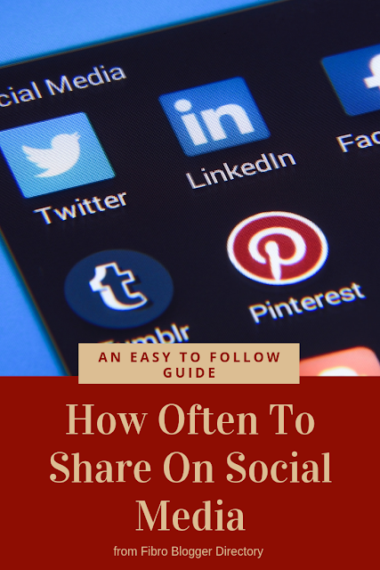 An easy to follow guide on How Often To Share On Social Media