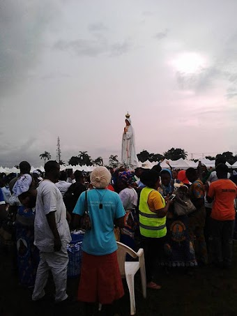 Phép lạ Mặt Trời ở Nigeria ngày 13/10/2017