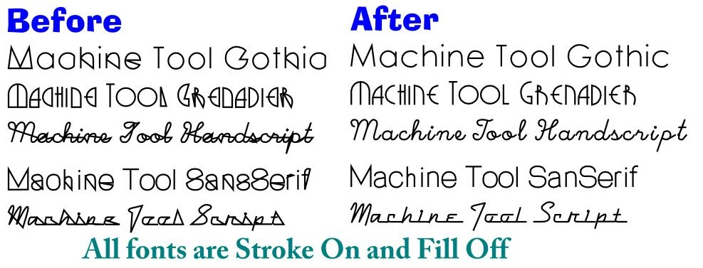 Fonts: How-To and Good Source for single-line Laser / CNC