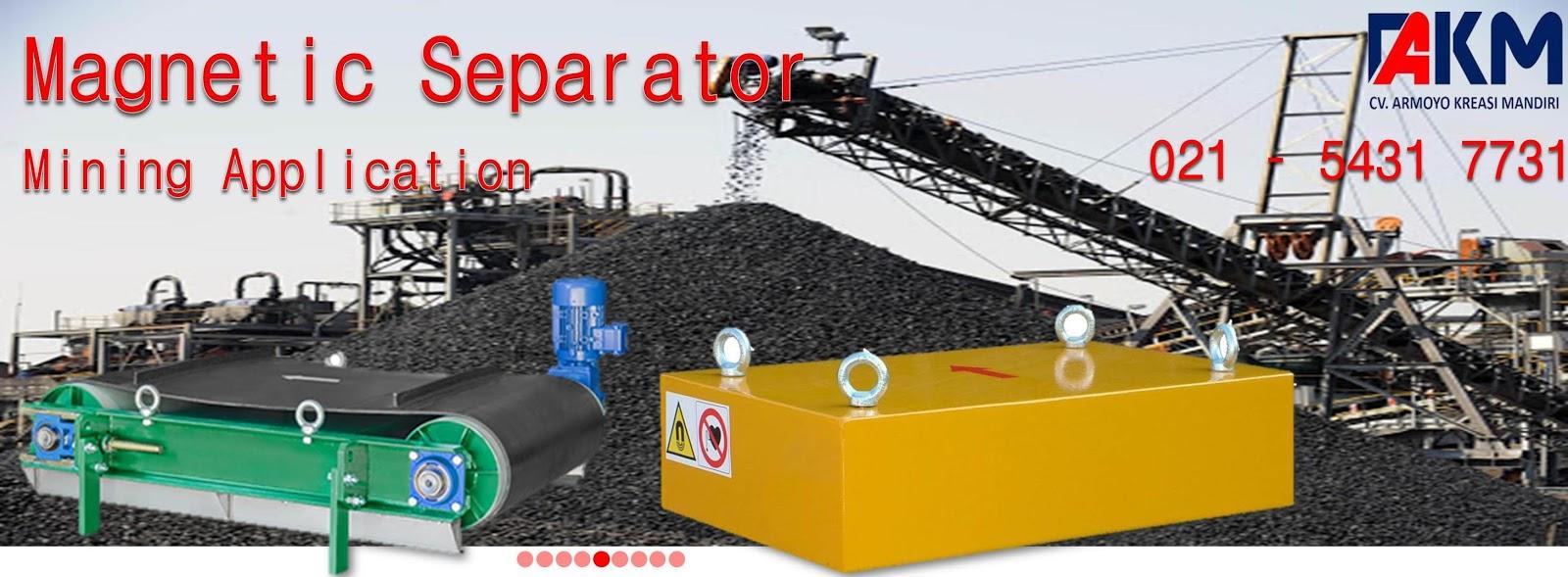 magnetic separator untuk mining