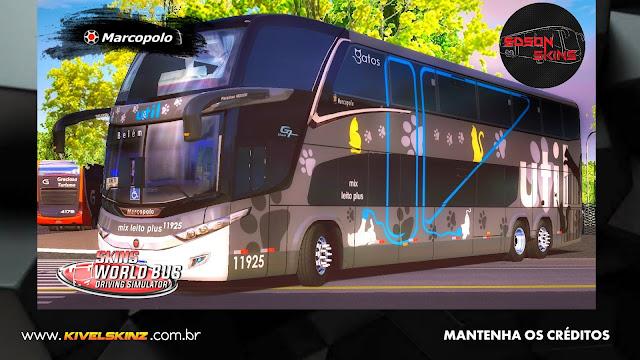 PARADISO G7 1800 DD 6X2 - VIAÇÃO UTIL GATOS