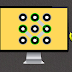 قفل شاشة حاسوبك  بنمط مثل اجهزة الاندرويد