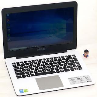 Laptop Gaming Asus A455L Core i3 Double VGA Second di Malang